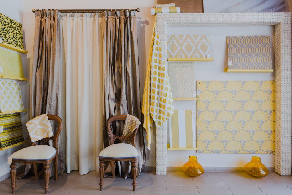 Amarillo tendencia de decoración en Málaga